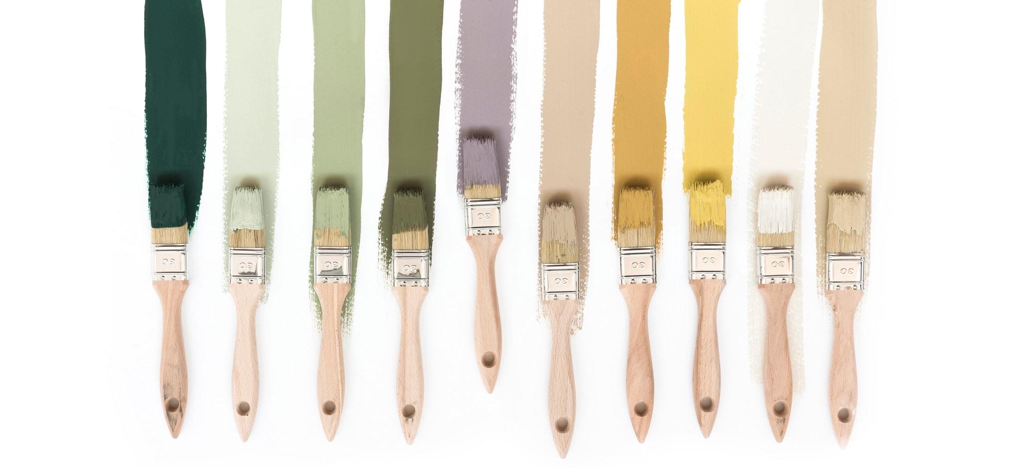Indret med farver