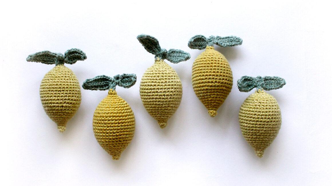 Hækleopskrift | Populær citron-rangle