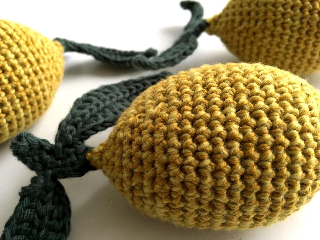 hækleopskrift citronrangle