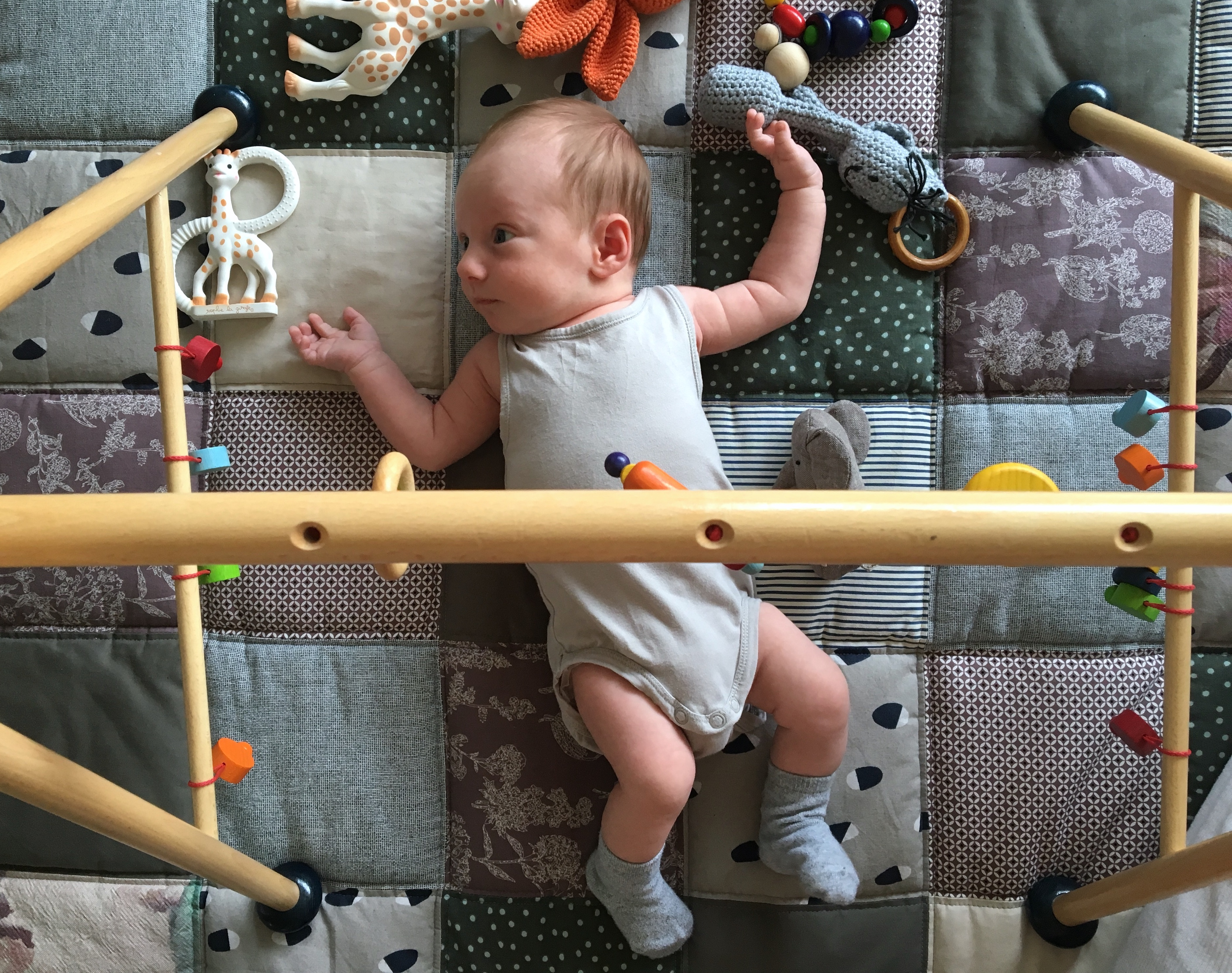 Baby blanket patchwork