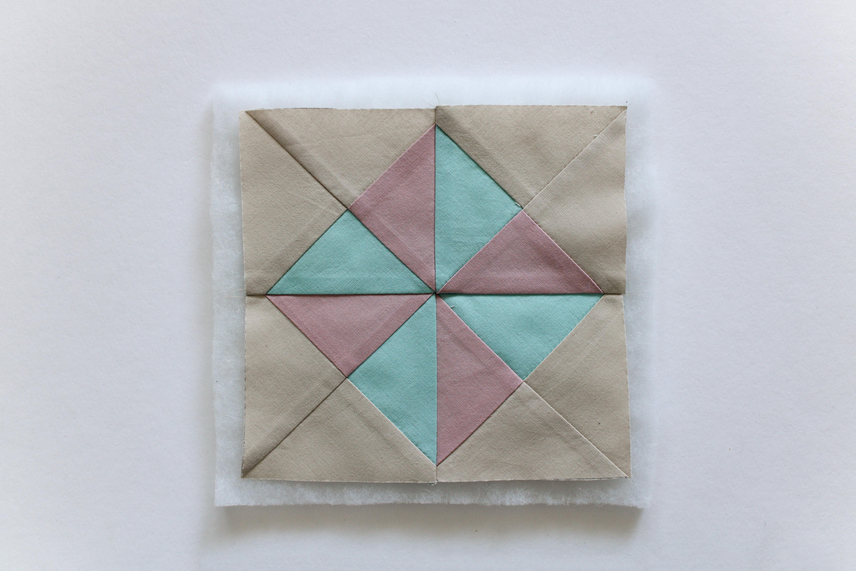 patchwork billede diy