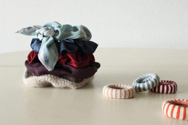 Scrunchie med sløjfe | syguide