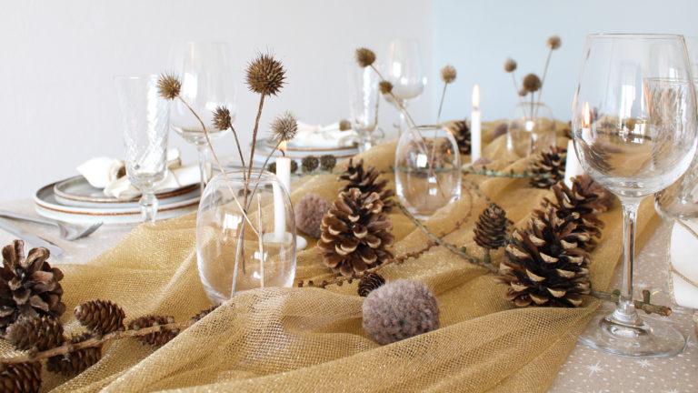 julebord juleideer borddækning