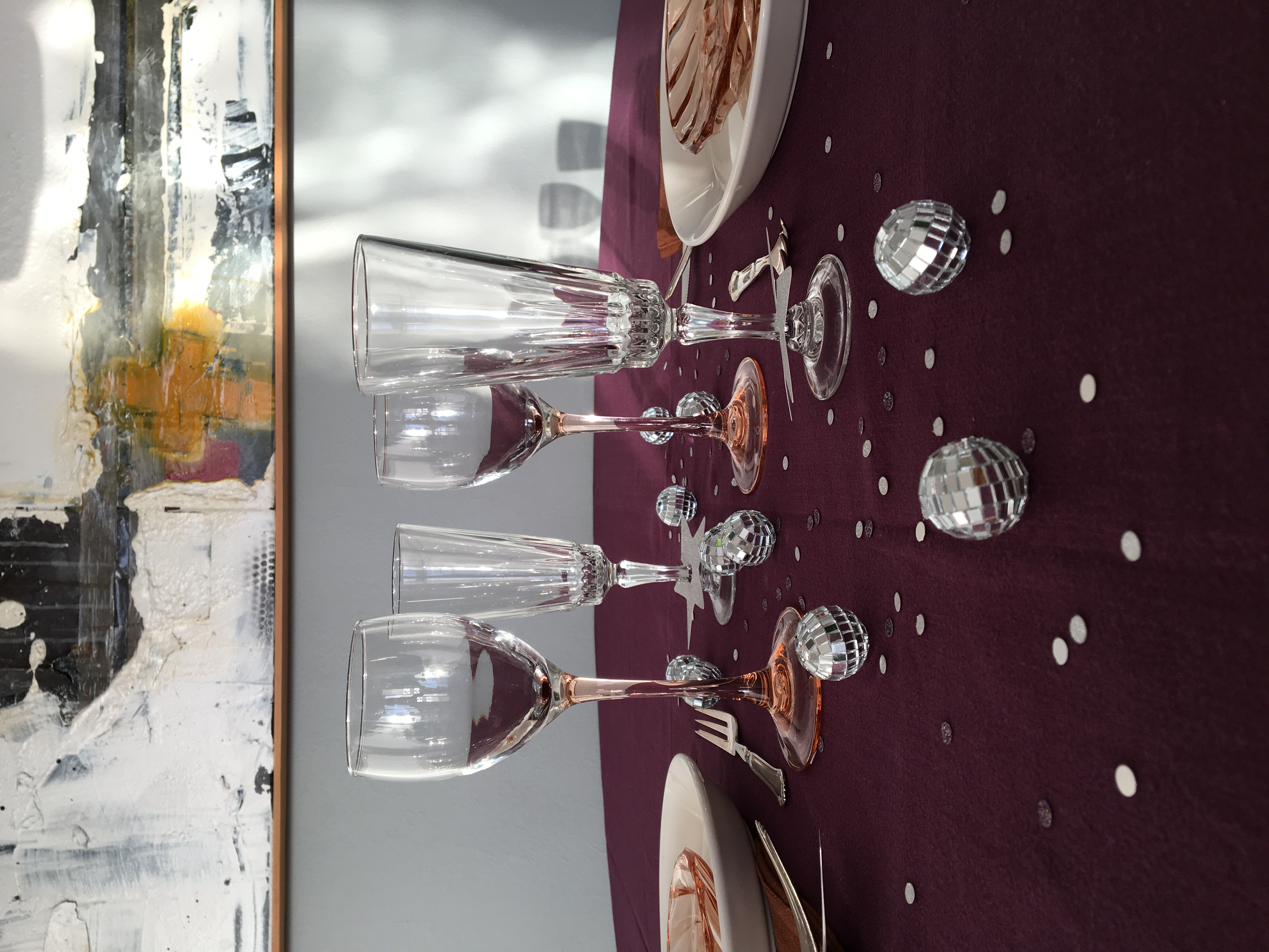 new years table