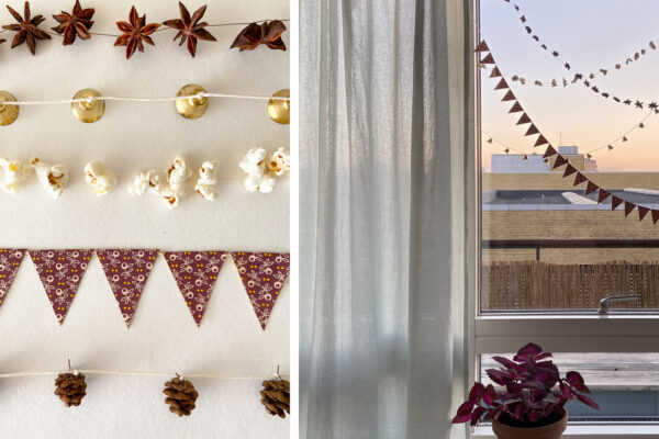 Julepynt | DIY guirlander