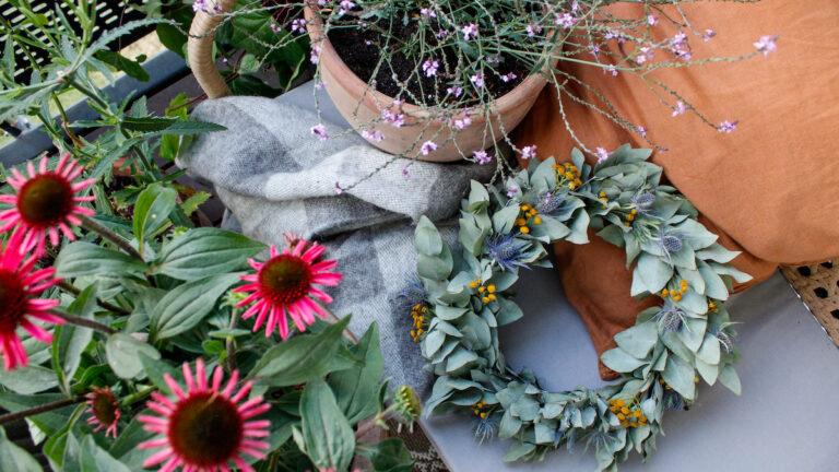 diy wreath altan inspiration